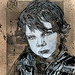 C215 - Portrait of Jack Colvin (Black and White version)