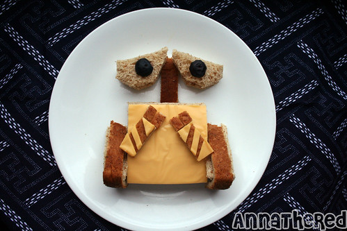 Wall-E Sandwich | food art | flowerchildau