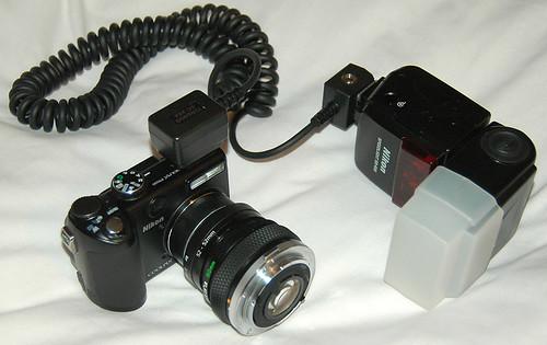 Reversed Lens Set Up