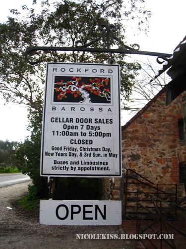 rockford winery at barossa valley