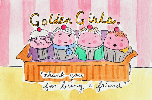 Custom order, Golden Girls Cupcakes