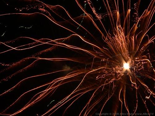 Christmas Fireworks 5