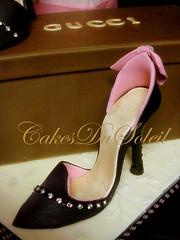 Gucci (JacqueBenson) Tags: cake shoes lingerie gucci heels couture victoriassecret cakesdusoleil