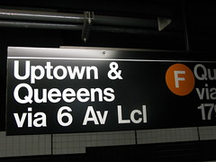 Queeens Typo (Squid Ink) Tags: nyc newyorkcity signs subway manhattan queens mta gothamist typo ftrain broadwaylafayette
