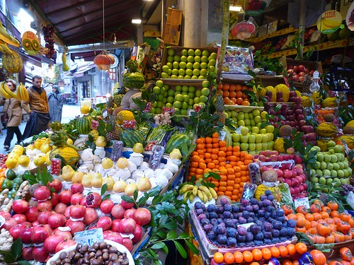 fruit shop Turkish style
