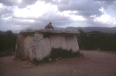 Dolmen de Fontanaccia sur le plateau de Cauria