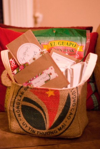 holiday traditions swap package