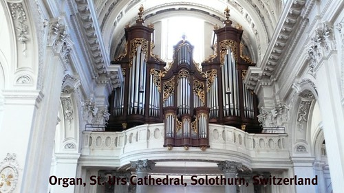 Organ St. Urs Cathedral, Solothurn