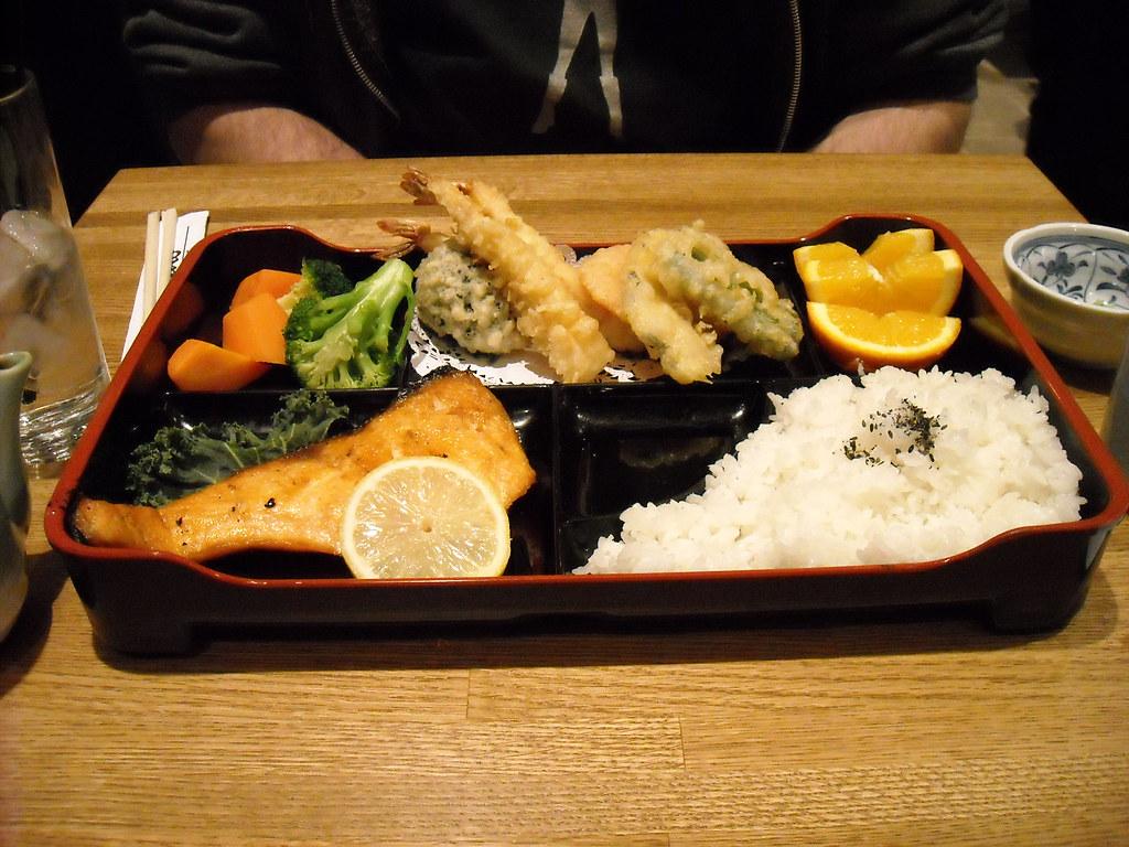 sake shioyaki teishoku
