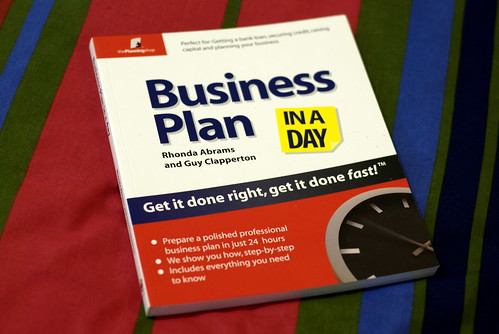Business Plan In A Day Book