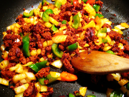chorizo stuffing for peppers