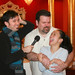 Behind the scenes at Miss Saigon at Drury Lane- Fausto Fernós, Kevin Thomas and Melinda Chua Smith