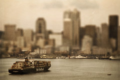 Seattle (EdBob) Tags: seattle travel usa texture water skyline toy downtown ship cargo american pacificnorthwest pugetsound kingcounty lowe tiltshift edmundlowe edlowe edmund edmundlowe allmyphotographsarecopyrightedandallrightsreservednoneofthesephotosmaybereproducedandorusedinanyformofpublicationprintortheinternetwithoutmywrittenpermission edmundlowephotography edmundlowestudiosinc