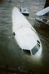 . (3-rsj) Tags: new york nyc water plane river do hudson piloto experincia valeu