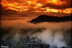 Beneath the Clouds - Debajo de las Nubes (Ecuador) (Bernai Velarde Photography ) Tags: morning church america canon eos early ecuador south iglesia amanecer filter nubes sur cokin guapulo velarde 50d bernai flickrestrellas archivofotograficoecuatoriano