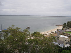Nelson's Bay - view from apartment