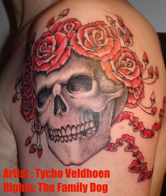 grateful dead tattoo; Wild Tattoo - Older Deadhead; One cool looking