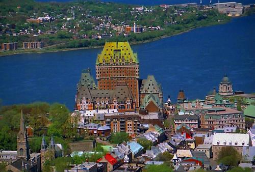 Chateau Frontenac, Quebec Canada
