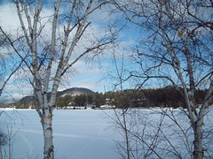 Mirror Lake in January (aeroshark1) Tags: ny lakeplacid