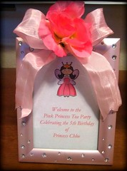Pink Princess Tea Party