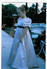Ivory satin flower girl (candicer2009) Tags: ivory satin puffedsleeves flowergirldress ribbonsash
