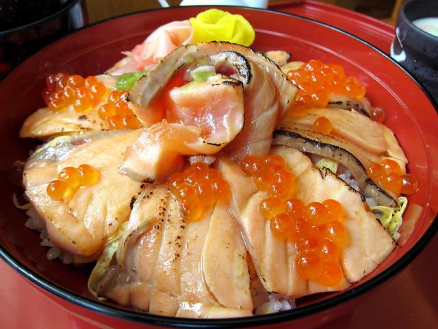 Salmon Donburi Set