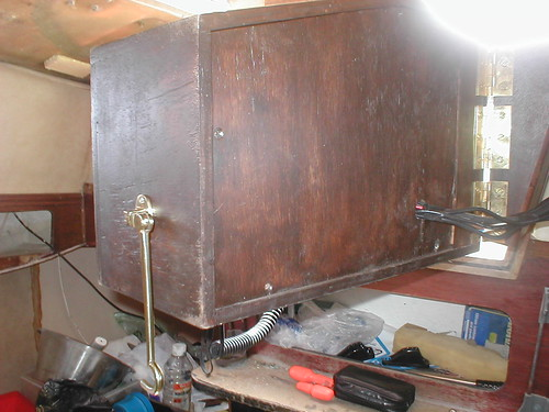 Rear of instrument box