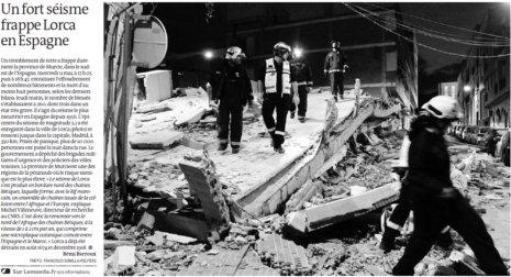11e12 LMonde Fuerte terremoto en Lorca