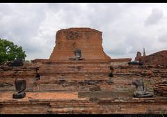 TH-050 (Rawbean Laden) Tags: thailand ayutthaya watmahatat templeruin