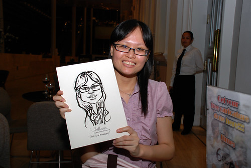 Caricature live sketching for Tetra 60th Anniversary - 15