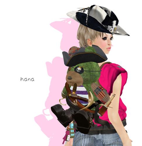 **JPK Pirate Bear Back pack