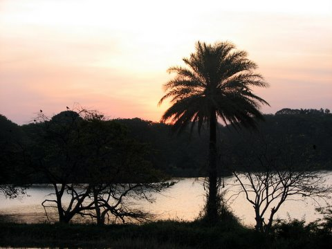 sunset afterglow lalbagh 270208