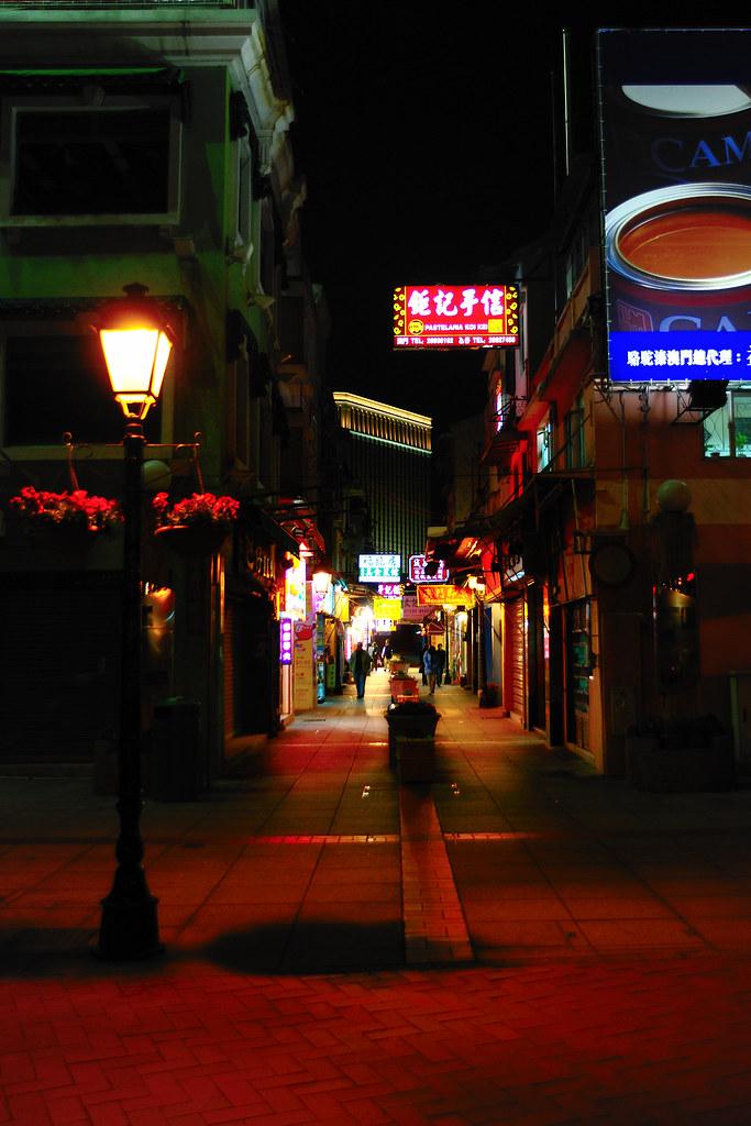 Macao souvenirs alley..
