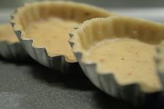 Tarlettes avant la cuisson