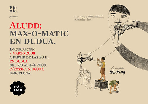 Aludd: Max-o-matic en Duduá