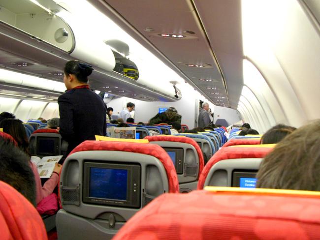 106 Onboard Dragonair A330 <acronym title=