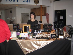 New Bremen Show 2007 (4) (Trendy Treasures) Tags: show wedding black me glass silver ceramic table gold necklace beads wire crystals display crystal handmade crafts curtain earring craft jewelry velvet jewellery delicious trendy indie bracelet bead handcrafted sheet pearl bracelets sterling swarovski earrings etsy beaded artisan treasures easel necklaces silvertone sterlingsilver crafted goldtone squidoo indiepublic trendytreasures