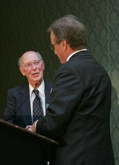 Norm Berg with Ralph Grossi, photo by AFT