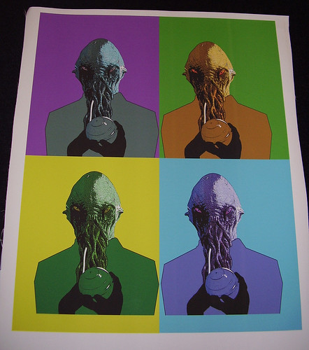 Ood 'Pop Art' Canvas