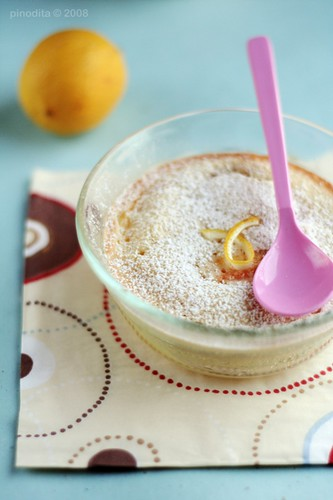 lemon & almond clafoutis 4/5