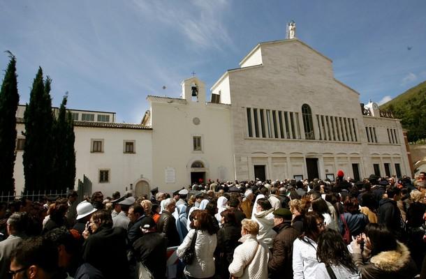 ITALY-RELIGION-PADRE PIO-PILGRIMS