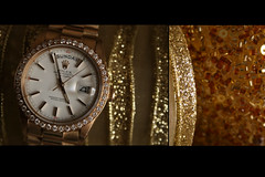 -::-RoleX-::- (-::-Mr.AD-::- *Uae*) Tags: gold golden day time sunday blingbling diamond date 2008 rolex edit