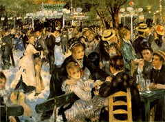 Pierre August Renoir_le Moulin de la galette-1876 (Fernanda2727 ( thank YOU friends! )) Tags: france art painting picture painter impressionism renoir 1876 lemoulindelagalette pierreaugustrenoir sec1819