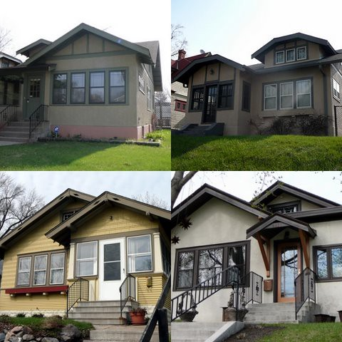 Minneapolis Bungalow Collage 3