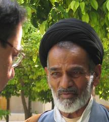 Day 6 - Shirz: Khan Theological School (birdfarm) Tags: man iran teacher shiraz turban seminary  mullah cleric    blackturban imamgholikhanmadrasa madrasaikhan shirz khantheologicalschool madrassahekhan