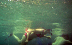 Backup Snorkelers (racketrx) Tags: hawaii underwater oahu snorkeling hanaumabaynaturepreserve