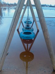 Flooded swings