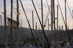 Barcelona - Coln desde el puerto (Xver) Tags: barcelona espaa spain spanien nikond40