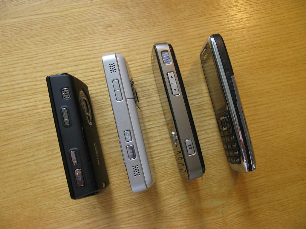 N95 8GB, N82, N78 and E51