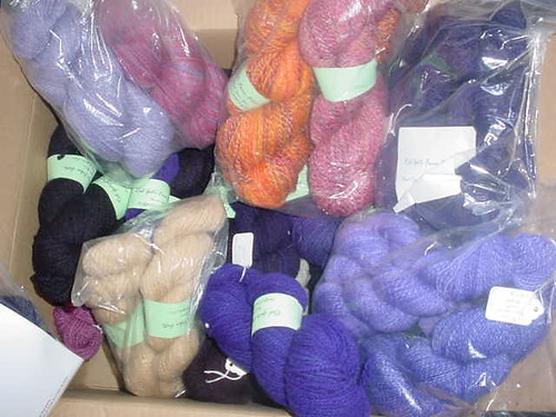 Beautiful yarns from new spinner Jane!